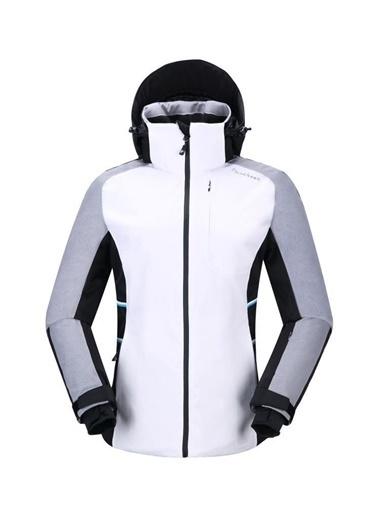 Panthzer  Hispar Kadın Kayak Mont Beyaz Renkli
